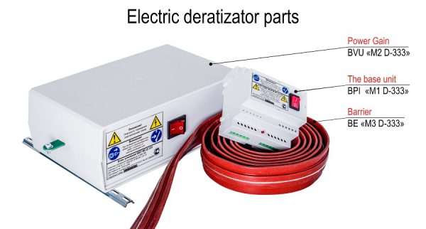 Electric deratizator