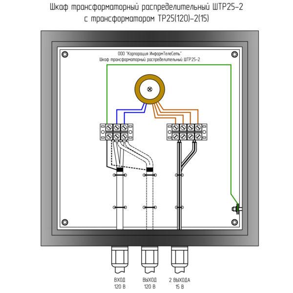 ШТР25-2 Шкаф трансформаторный распределительный
