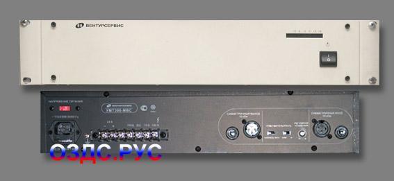 Усилитель мощности трансляционный УМТ-100, УМТ-200, УМТ-400 Вентур-Сервис