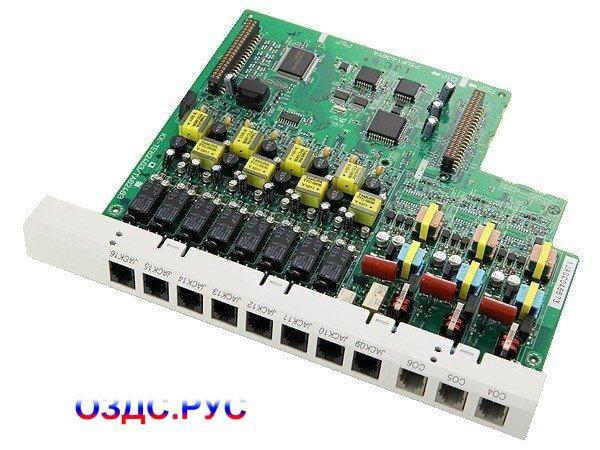 Плата 3-х городских и 8 внутренних линий Panasonic KX-TE82483X